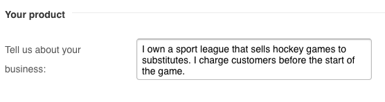 Entrez la description de votre ligue.